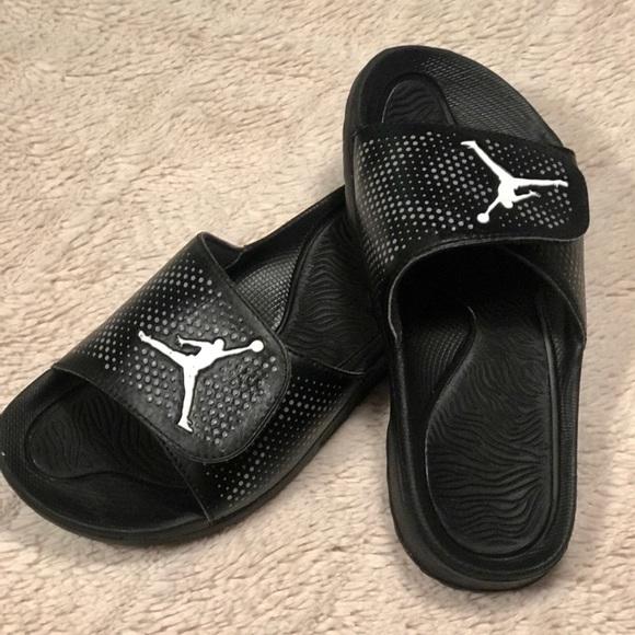 d0742ffd5 Jordan Other - Boys Jordan Hydro 5 Slides Black